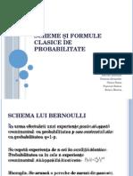 Scheme Și Formule Clasice de Probabilitate