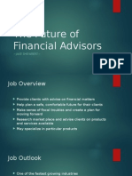 the future of financial advisors