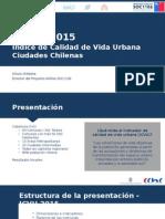 Las Condes, Vitacura y Providencia son las comunas con mejor calidad de vida en Chile