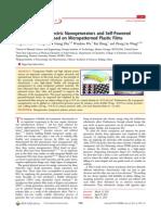 Transparent Triboelectric Nanogenerators