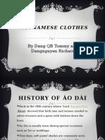 vietnamese clothes ( vietnamese project)