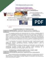 B Competencias de La Universidad de Guadalajara, De Todas Mis UAs Del 2015A
