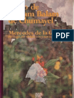 Libro de Chilam Balam de Chumayel