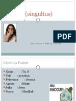 Ppt Hiccup (Singultus)