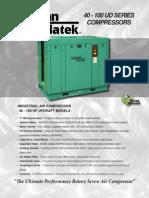Compresor de Aire Sullivan Palatek