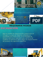maquinaria excavacion