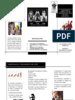 FOLLETO CRECIMIENTO (DESARROLLO FÍSICO Y PSICOMOTOR) 1ERPARCIAL, 2DO SEMESTRE