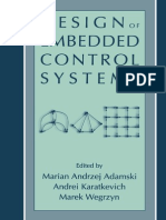 Design and Embedded Control Systems
