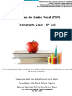 Apostila Treinamento Vocal