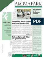 Takoma Park Newsletter - May 2015