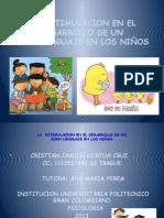 LA  ESTIMULACION EN EL DESARROLLO DE UN.pptx