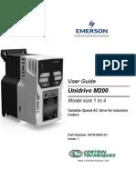 UnidriveM200 UG Iss1 En