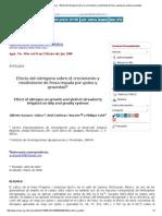 Agricultura Técnica en México - Efecto Del Nitrógeno Sobre El Crecimiento y Rendimiento de Fresa Regada Por Goteo y Gravedad
