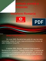 Responsabilitate socială a companiei      Vodafone Romania