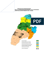 Provincias Del Tolima