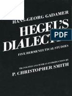 Gadamer, H-G - Hegel's Dialectic (Yale, 1976)