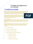 Teoria Para Leer ISO 9001 2008