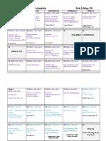 bio 20 calendar