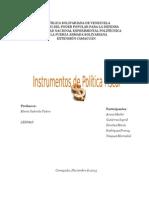 La Politica Fiscal Instrumentos