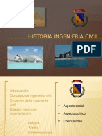 Historia Ingeniería Civil