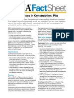 OSHA3788 Confined Spaces in Construction - Pits