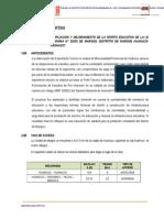 1 Memoria Descriptiva General margos huanuco