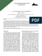 Wray_Quartzite Dissolution - Karst or Pseudokarst