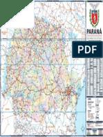 Mapa Politico Rodoviario 2011
