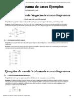 Ejemplos de Uso UML Diagramas de Casos - De Compras en Línea, El Sitio Web de Venta, Cajeros Automáticos Del Banco, E-Library, Facturación en El Aeropuerto, Restaurante, Hospital