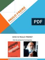 Freire- Pedagogy