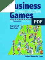Angela Lloyd, Communication Games
