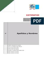 5º B Sistematizacion Linea Base Secundaria
