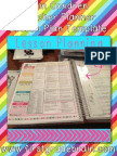 e Rincon Dren Teacher Planner Lesson Plan Template