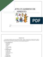 Completo Cuaderno de Aprestamiento Trabajamos La Grafomotricidad