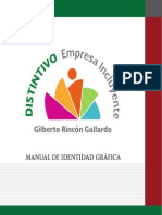 Manual de Identidad Grafica Empresa Incluyente