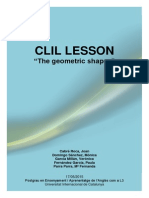 Clil Lesson - The Geometric Shapes