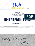 How to do Financial Projections Presentation for Entrepreneurs