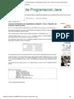 Tutoriales de Programacion Java_ Creación de Reportes Con JasperRepots y IReports - Parte 1_ Reportes Con Conexión a Base de Datos