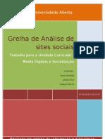 Análise da identidade em sites sociais - versão final
