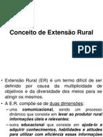 Conceito de Extensão Rural