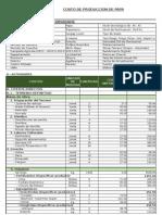 Otuzco Costos de Producción 2014