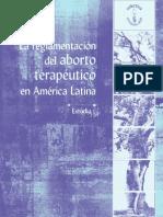 La Reglamentacin Del Aborto Teraputico en Amrica Latina-libro