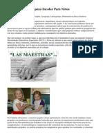 Article   Clases De Apoyo Escolar Para Ni?os