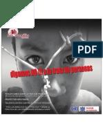 TRATA DE PERSONAS, proyectos exitosos ejecutados en Bolivia