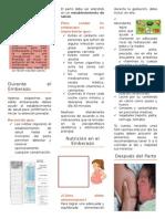 Tríptico Obstetricia