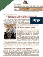 What Really Killed the Dinosaurs  - Marshall Smith - Brojon.com