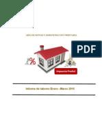 Área de Rentas y Administración Tributaria