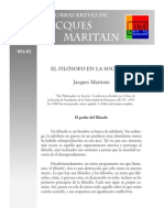 j.m Obras Breves Humanismo El Filósofo en La Sociedad