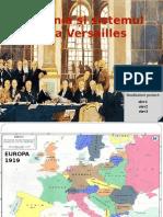 România Și Sistemul de La Versailles PPT