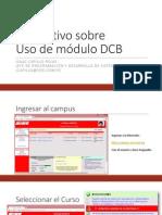 Instructivo DCB Virtual